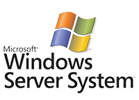 windows server system logo